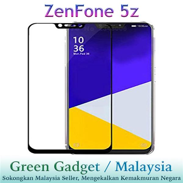 Asus ZenFone 5z ZS620KL Full Glue Screen Protector Tempered Glass