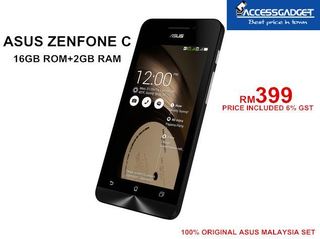 ASUS ZENFONE C 16GB 2GB RAM ORIGINAL End 3 14 2016 336 PM