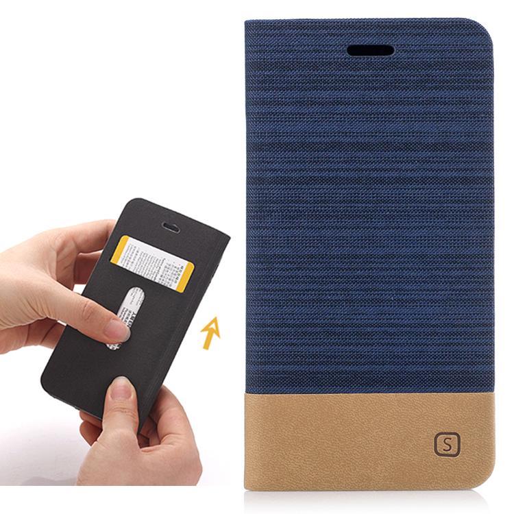 half off 183c6 7ec77 Asus Zenfone Live 3 GO ZB501KL Case Casing Cover Jean Design Wallet