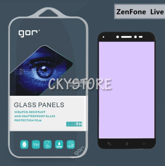 Asus Zenfone Live ZB501KL PE BLUE LIGHT FULL ORI GOR TEMPERED GLASS