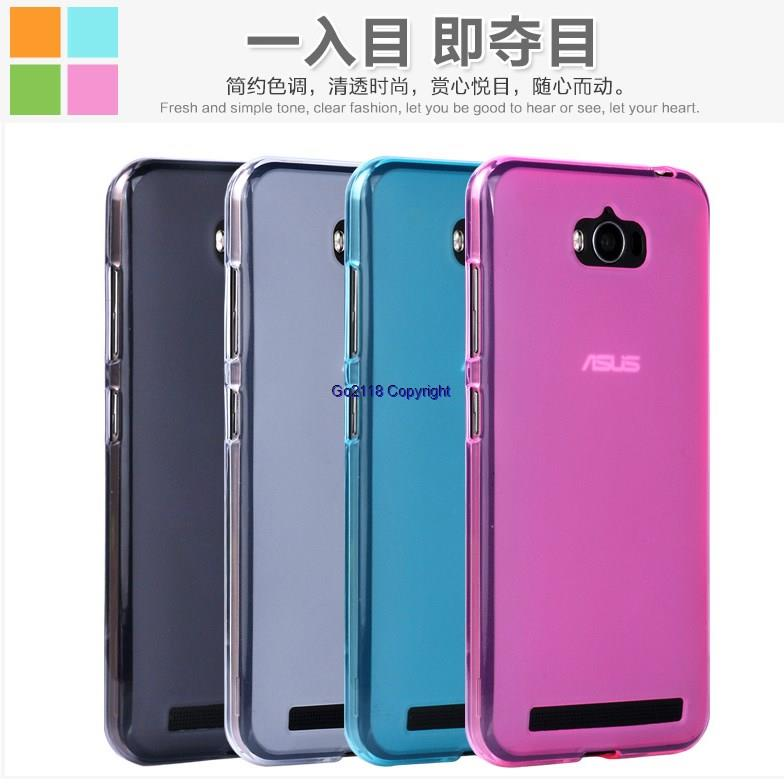 best loved 3104b 535ad Asus Zenfone Max ZC550KL Z010DA Silicone Transparent Back Cover Casing