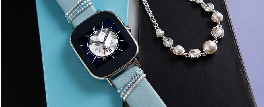 ASUS ZenWatch 2 Swarovski Edition with Crystal Bracelet! ORI ASUS MSIA