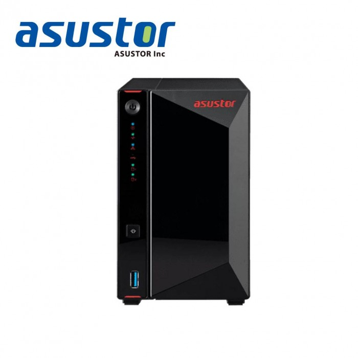ASUSTOR AS5202T 2 BAY NAS STORAGE **HDD NOT INCLUDED**