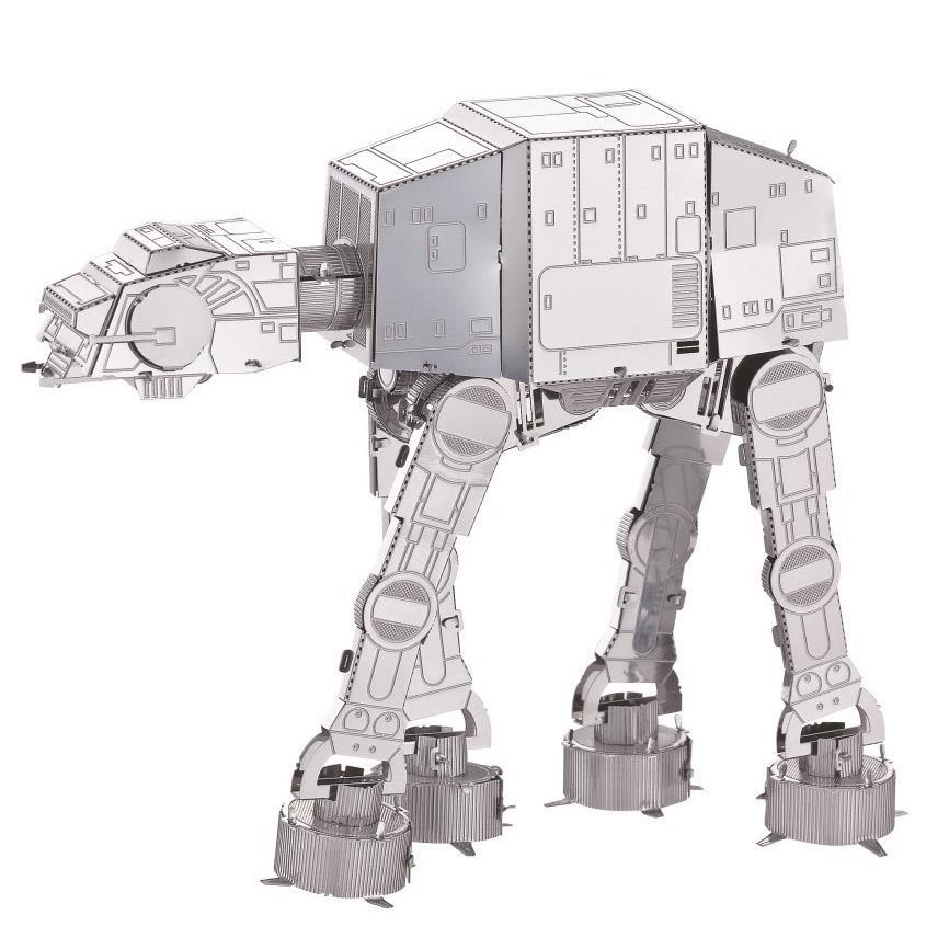 AT-AT Star Wars DIY 3D Models 3D Metal Works Puzzle