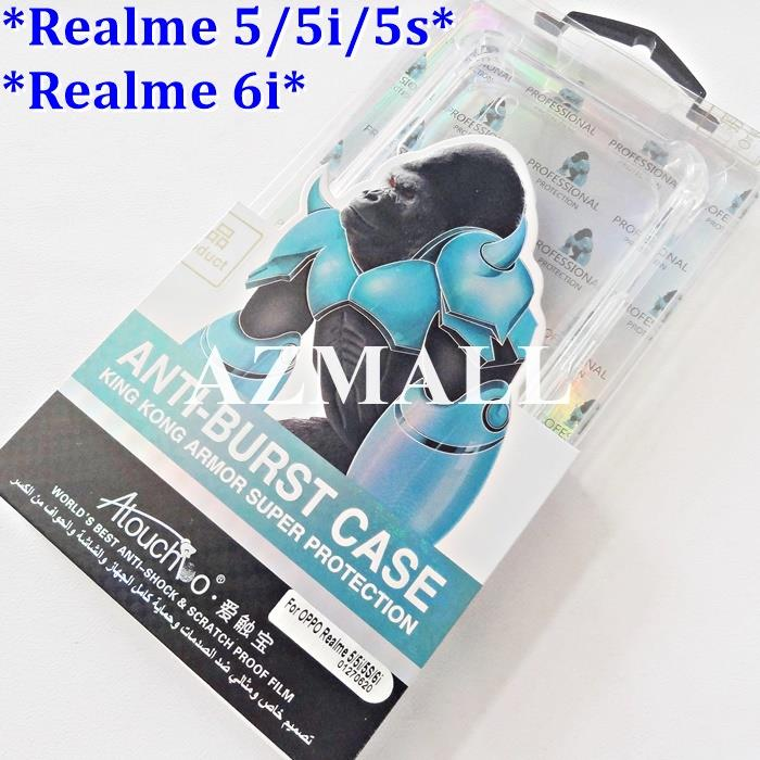 ATB Anti BURST DROP Shockproof TPU Case Realme 6i / Realme 5 5i 5s