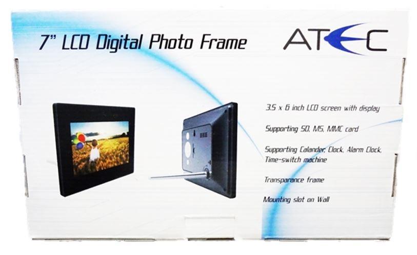 ATEC 7\'\' inch LCD Digital Photo Fram (end 8/24/2016 9:15 PM)