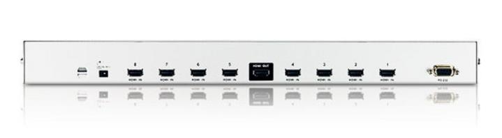 ATEN HDMI 8 IN TO 1 OUT PORT SWITCH (VS0801H)