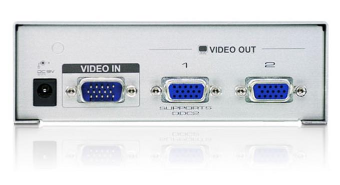 ATEN VIDEO VGA 1-IN TO 2-OUT WITH ADAPTER SPLITTER (VS92A-D)