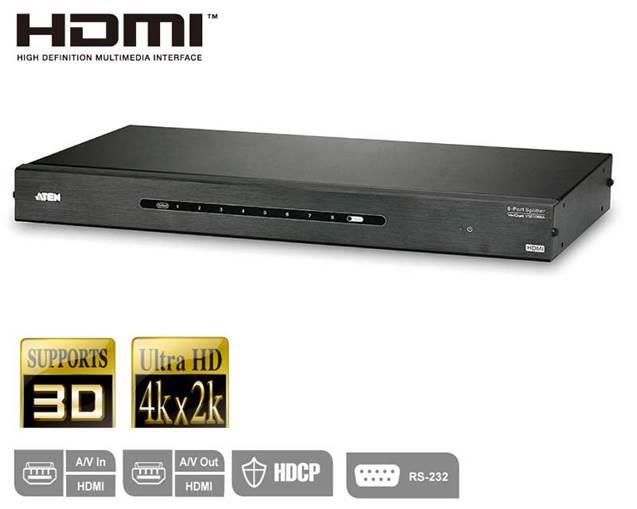 Aten VS0108HA 8-Port HDMI Splitter