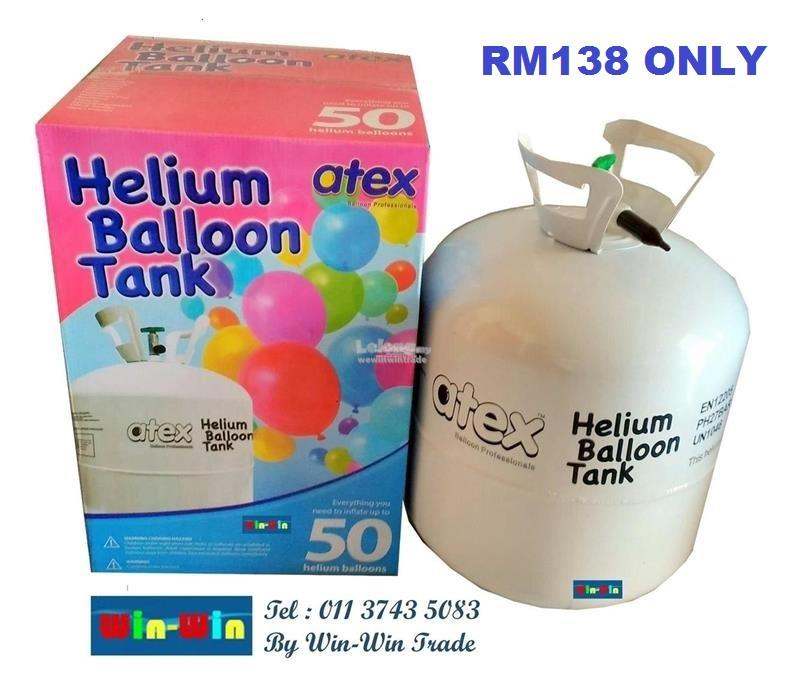 Atex Helium Balloon Gas belon gas tank
