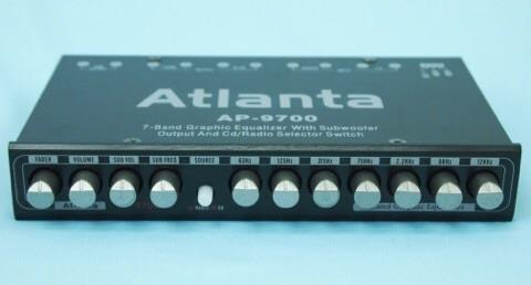 Atlanta 7 band car pre amp