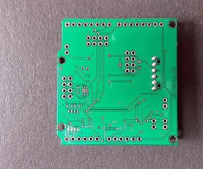 ATmega328p Board with NRF24l01+ Socket LTC4079 Battery Charger