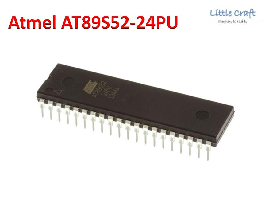Atmel AT89S52-24PU 8-bit Microcontroller [DIP-40]