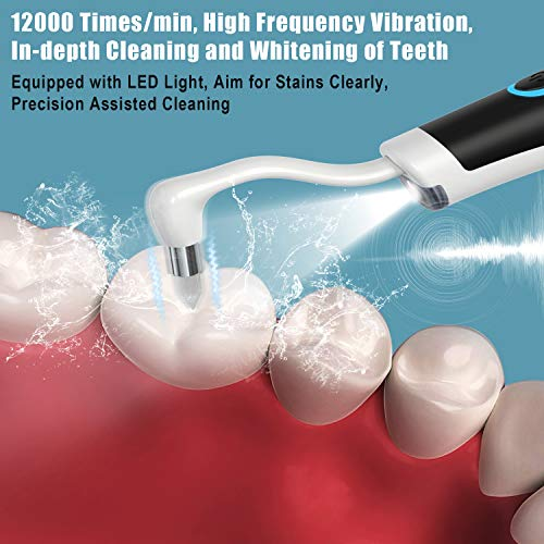 Atmonas Electric Tooth Polisher, 7-in-1 Professional Teeth Cleaning Kit with 5