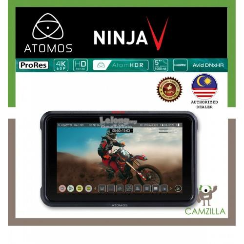 "Atomos Ninja V 5"" 4K HDMI Recording Monitor Touchscreen Display"
