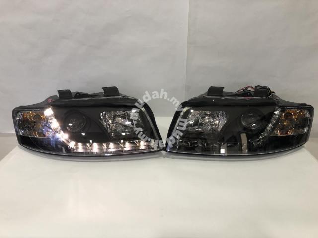 04 A4 Led Head B6 Taiwan Lamp Audi 01 Projector 7gf6by