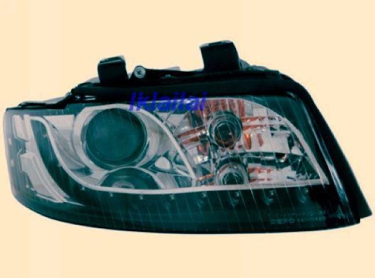 Audi A4 B6 '01-04 Head Lamp Projector W/LED R8 [AD02-HL02-U]