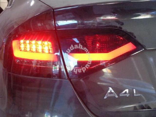 For Audi A4 B8 08-09 Led Tail Lamp Light Bar Red Color