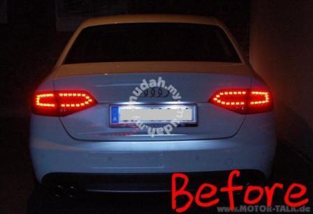Audi A4 B8 08 12 Led Tail Lamp Black End 522018 215 Pm