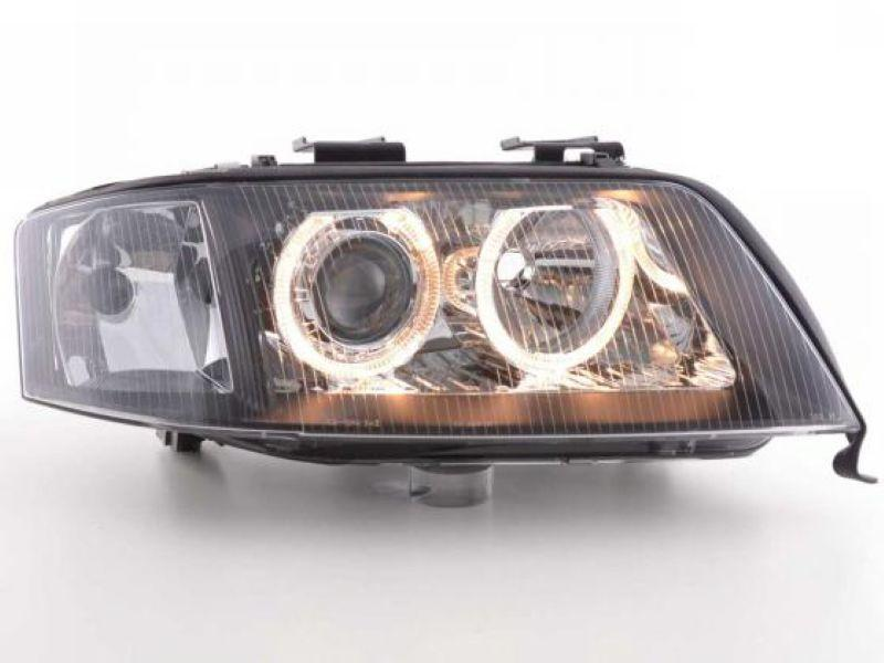 AUDI A6 98-01 LED Ring Projector Head Lamp
