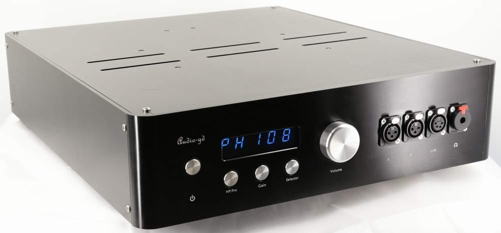 Audio-GD HE-9 Real Balanced ACSS Pure Class A Preamp Headphone amp