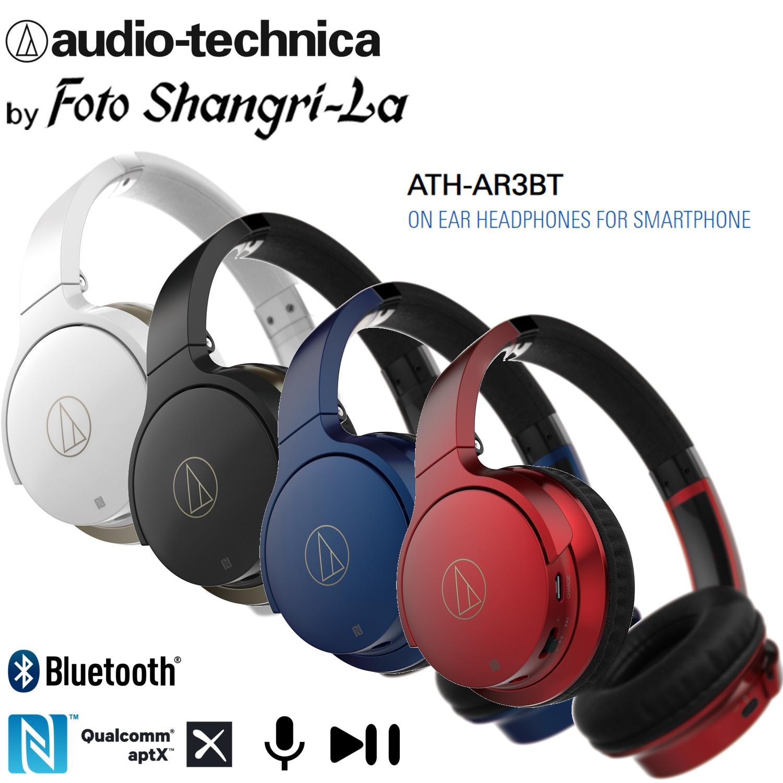 8307ec435e3dda Audio Technica ATH-AR3BT Wireless On-Ear Headphones Mic & Control for  Smartph. ‹ ›