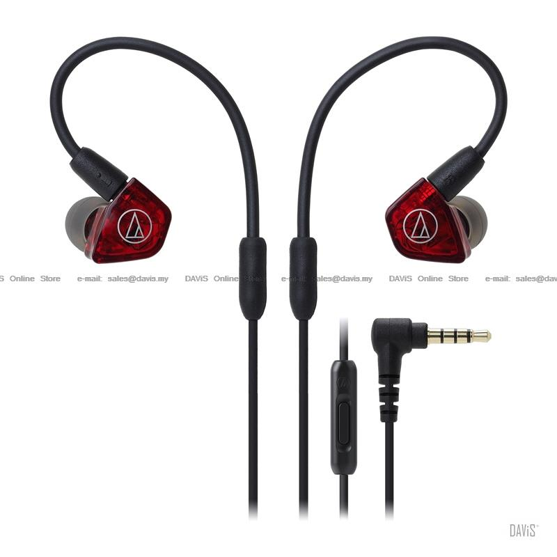 Audio-Technica ATH-LS200iS - In-Ear Headsets - Dual Armature Driver