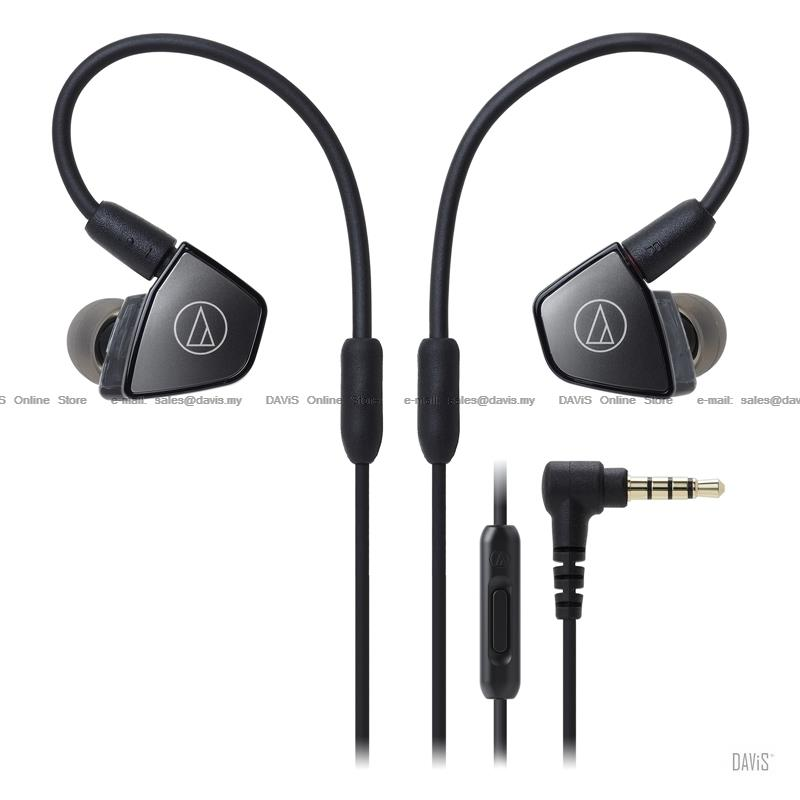 Audio-Technica ATH-LS300iS - In-Ear Headsets - Triple Armature Driver