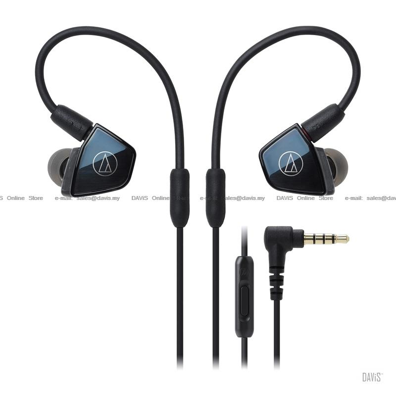 Audio-Technica ATH-LS400iS - In-Ear Headsets - Quad Armature Driver
