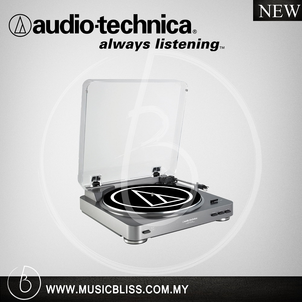 Audio-Technica AT-LP60-USB Belt-Drive Turntable Gun Metal (ATLP60USB)