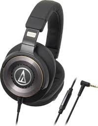 AUDIO-TECHNICA WIRED HEADPHONE ATH-WS770iS GM (GUN METAL)