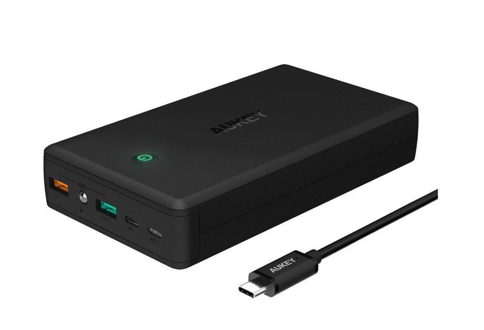 Aukey 5000 20000 30000 Mah Qualcomm QC 3.0 Power Bank PowerBank