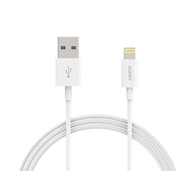 AUKEY MFI LIGHTING CABLES (APPLE CERTIFIER) for IPHONE 5 5S 6S 6 PLUS