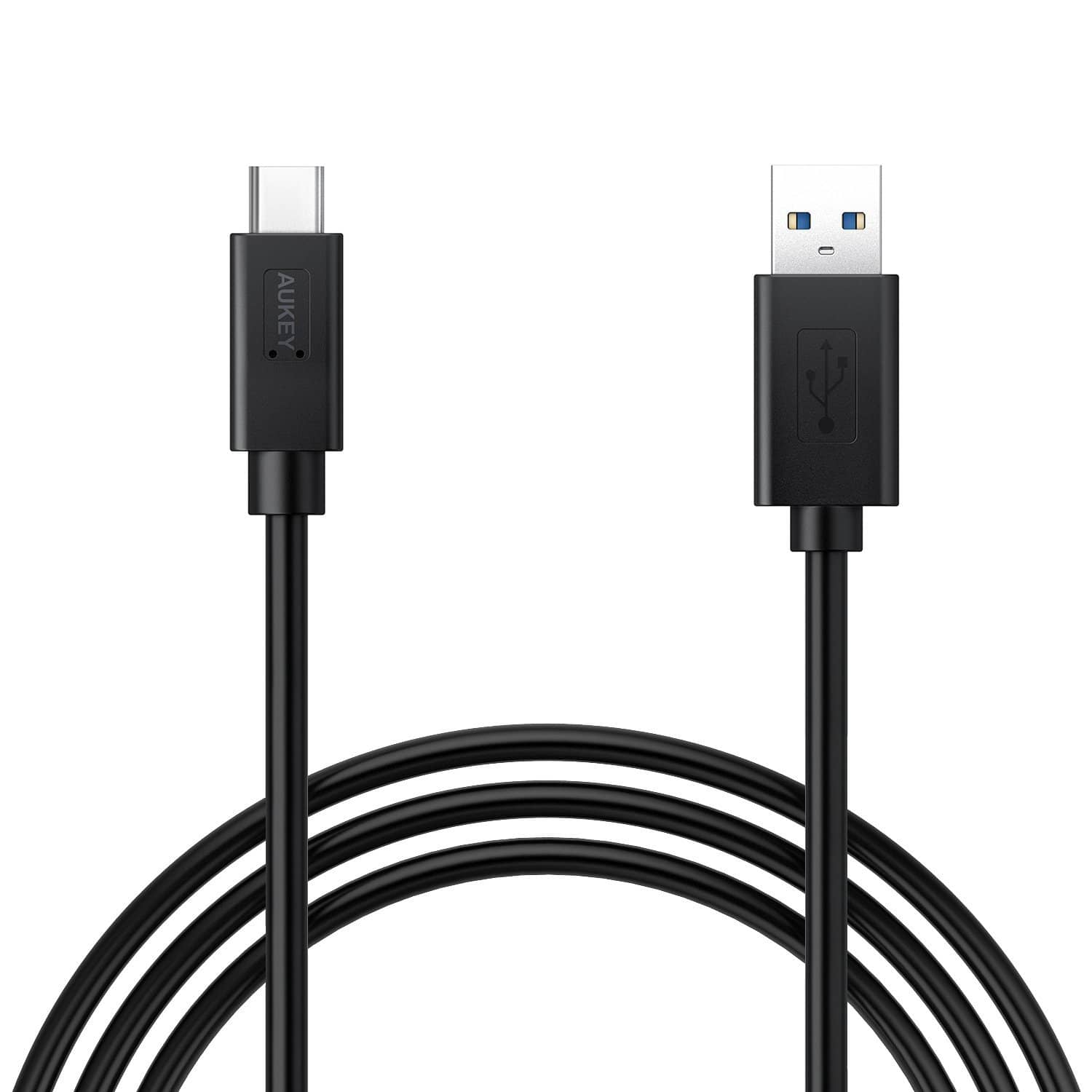 AUKEY USB-C to USB 3.0 Cable 1M for MacBook, ChromeBook (Benson Approved. ‹ ›