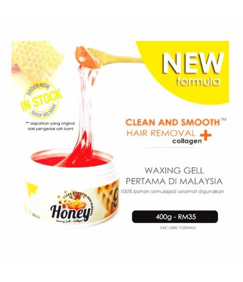 Aura Jelita Clean and Smooth  Hair Removal with Honey Collagen Wax