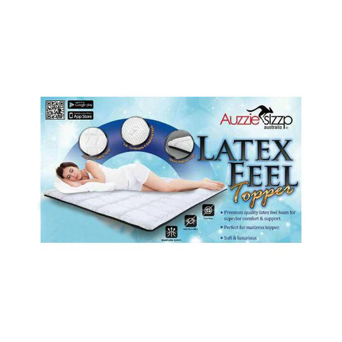Aussie Sleep Latex Feel King Topper