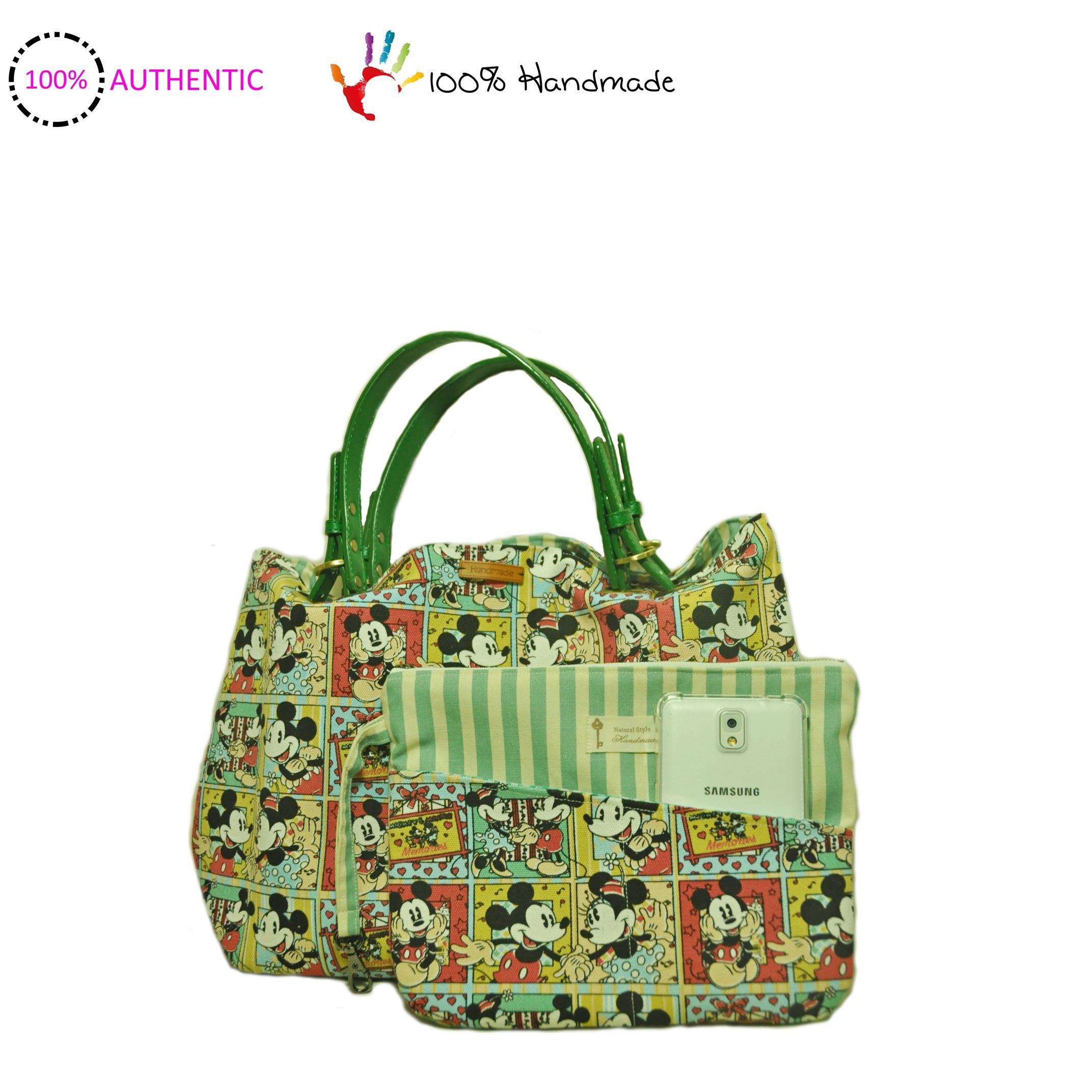 Australia Handmade Mickey Mouse Cartoon Handbag Shoulder Bag