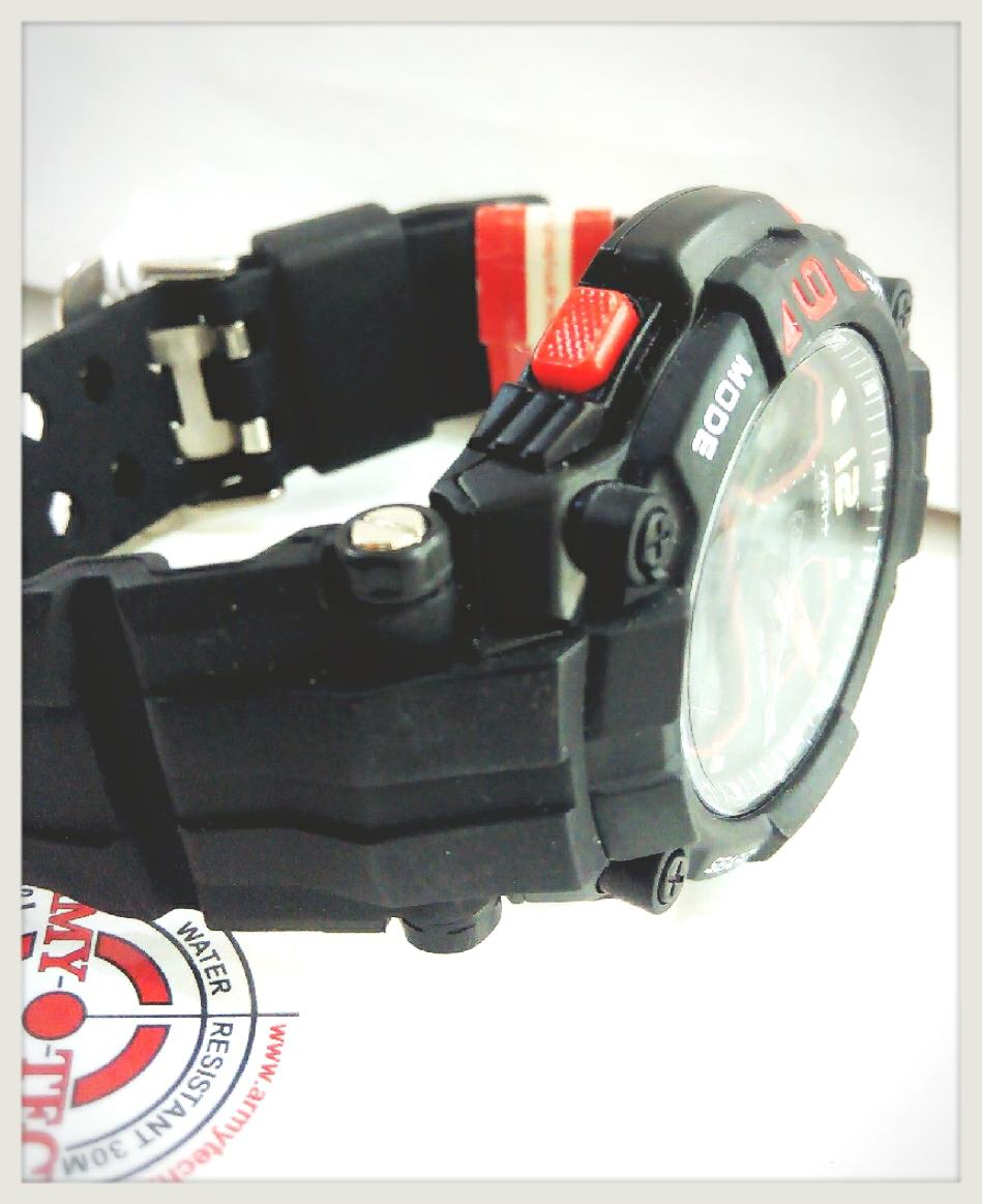 An Authentic Amry Tech Watch-ARSM-3008-AD-P-RB