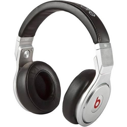 Authentic Beats Pro Headphone Silver