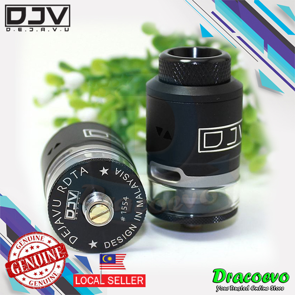 Authentic DEJAVU RDTA Tank Atomizer DJV 2ml
