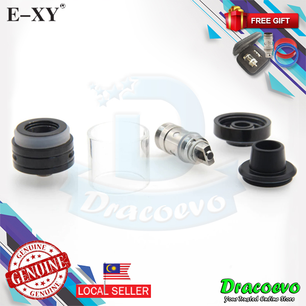 Authentic E-XY RBA Tank Atomizer With Free Zipper Case Band