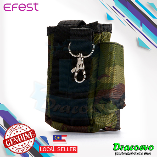 Authentic Efest Nylon Bag Black Camouflage For Mod Vape E-Cig Accessor