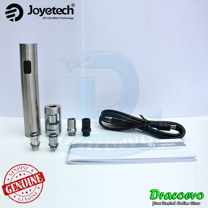 Authentic Joyetech eGo ONE V2 XL Starter Kit Vape Built In 2200 mAH