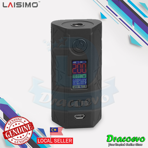 Authentic Laisimo Defender 200W TC VW Variable Wattage Box