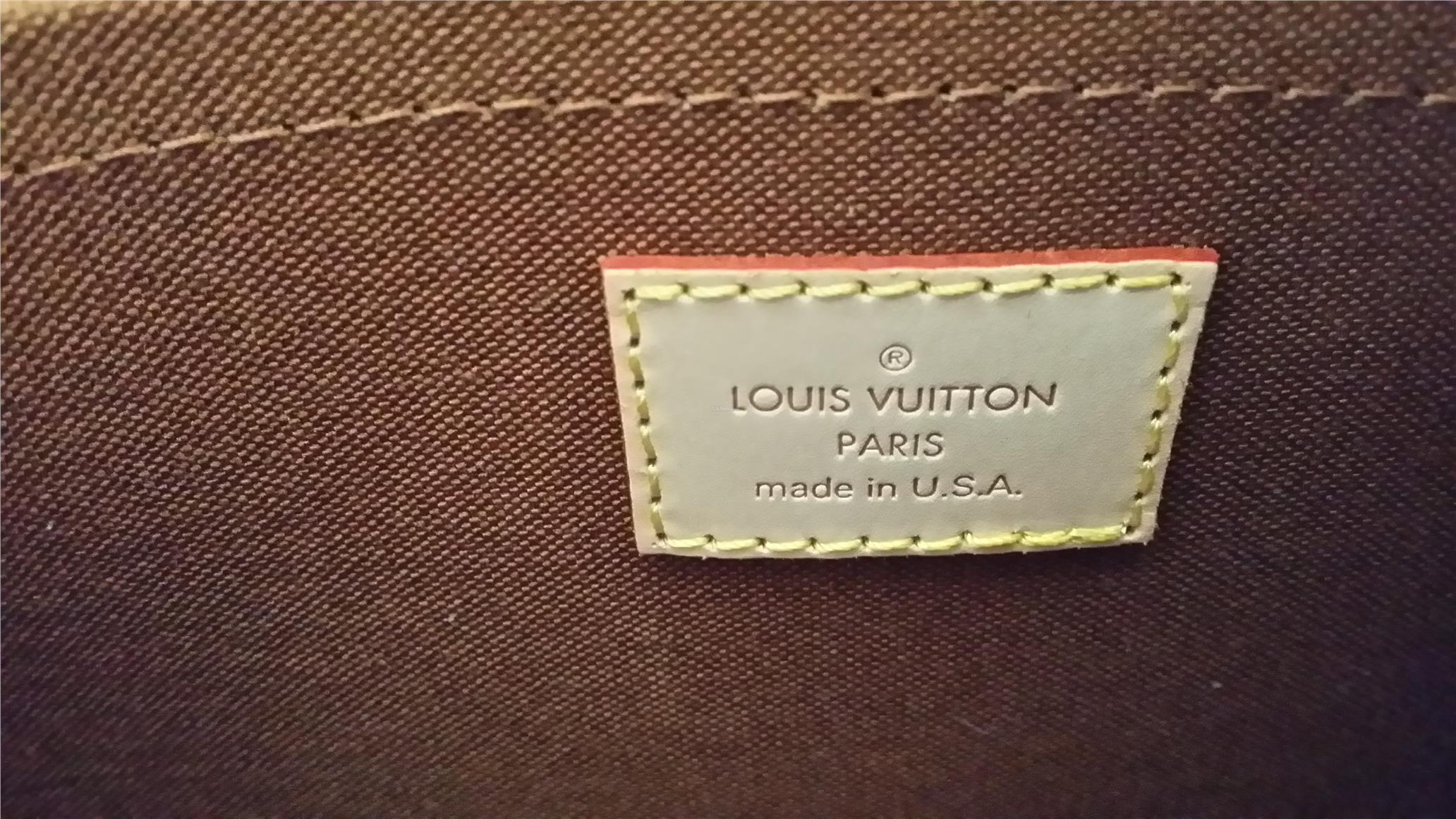 where are the louis vuitton bags made