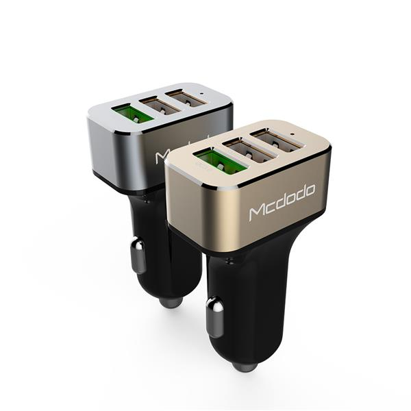 Authentic MCDODO CC-224 Fast Charging Quick Car Charger 3x USB ~QC3.0