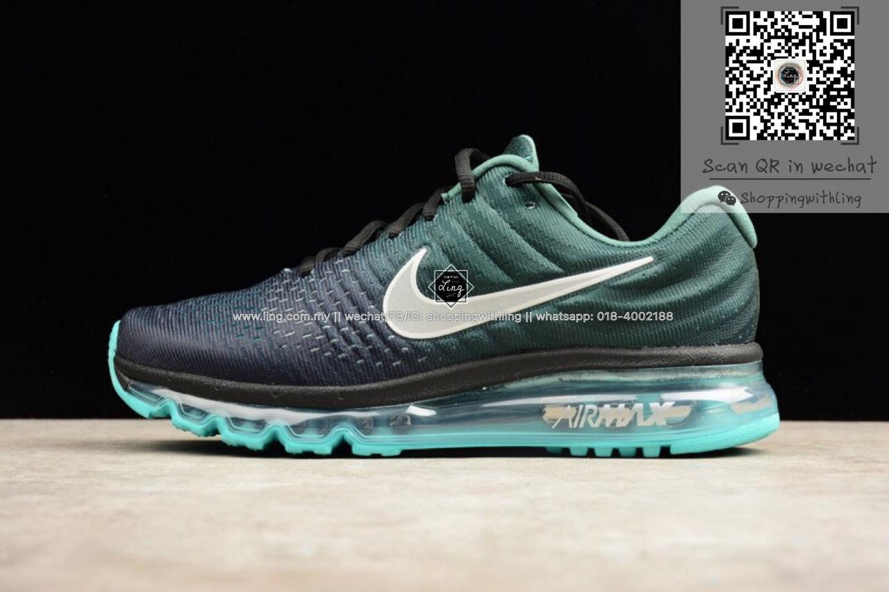 nike air max 2017 dames mint groen