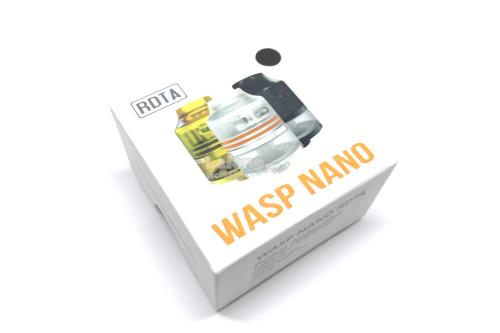 Authentic OUMIER WASP Nano RDTA Black