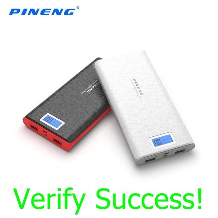 Authentic PINENG PN-920 PN920 20000mAh Power Bank Samsung Note 5 4 3 2