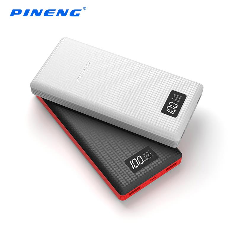 Authentic PINENG PN-969 PN969 20000mAh Power Bank iPhone 7 6S 6 Plus 5
